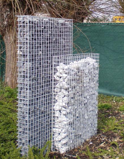 Mauer aus Draht | S+S Gittersysteme