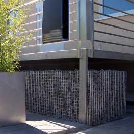 Gitttec Produkte | Drahtmauer Stahl wetterfest feuerverzinkt