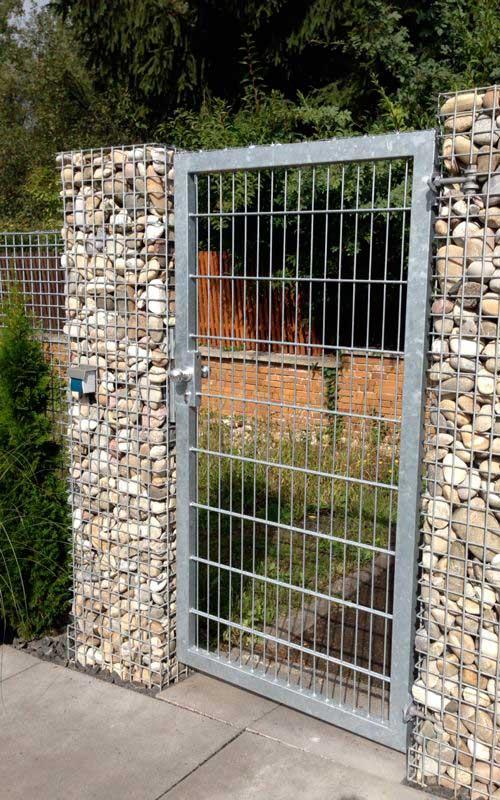 gitttec produkte | drahtmauer stahl wetterfest feuerverzinkt, Terrassen ideen